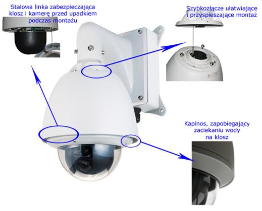 LC 15-CD55W-1010-IP - Kamery obrotowe IP