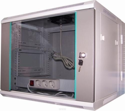 LC-R19-W12U550 GFlex Dragon D dzielona - Wiszące szafy teleinformatyczne 19
