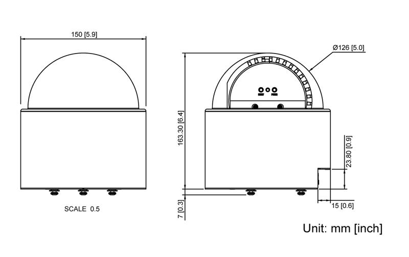 ACTi KCM-8111 - Kamery obrotowe IP