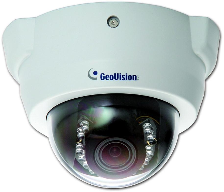 Geovision GV-FD3410 - Kamery kopułkowe IP