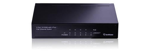 GV-POE0400 - Przełączniki sieciowe