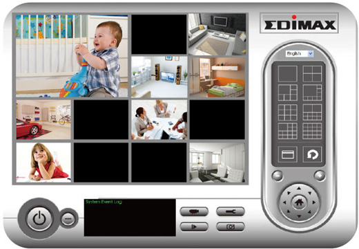 EDIMAX IC-7000PT v2 - Kamery obrotowe IP