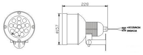 LIR-CH88 - Oświetlacze podczerwieni