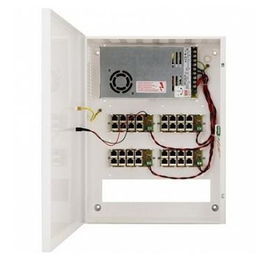 POE1648 - Zasilacz PoE 48V/6A do 16 kamer IP - Zasilacze do kamer