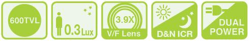 Samsung SCV-3081 - Kamery kopułkowe