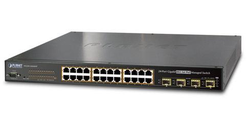 Planet WGSW-24040HP - Switch 16-portowy PoE - Przełączniki sieciowe