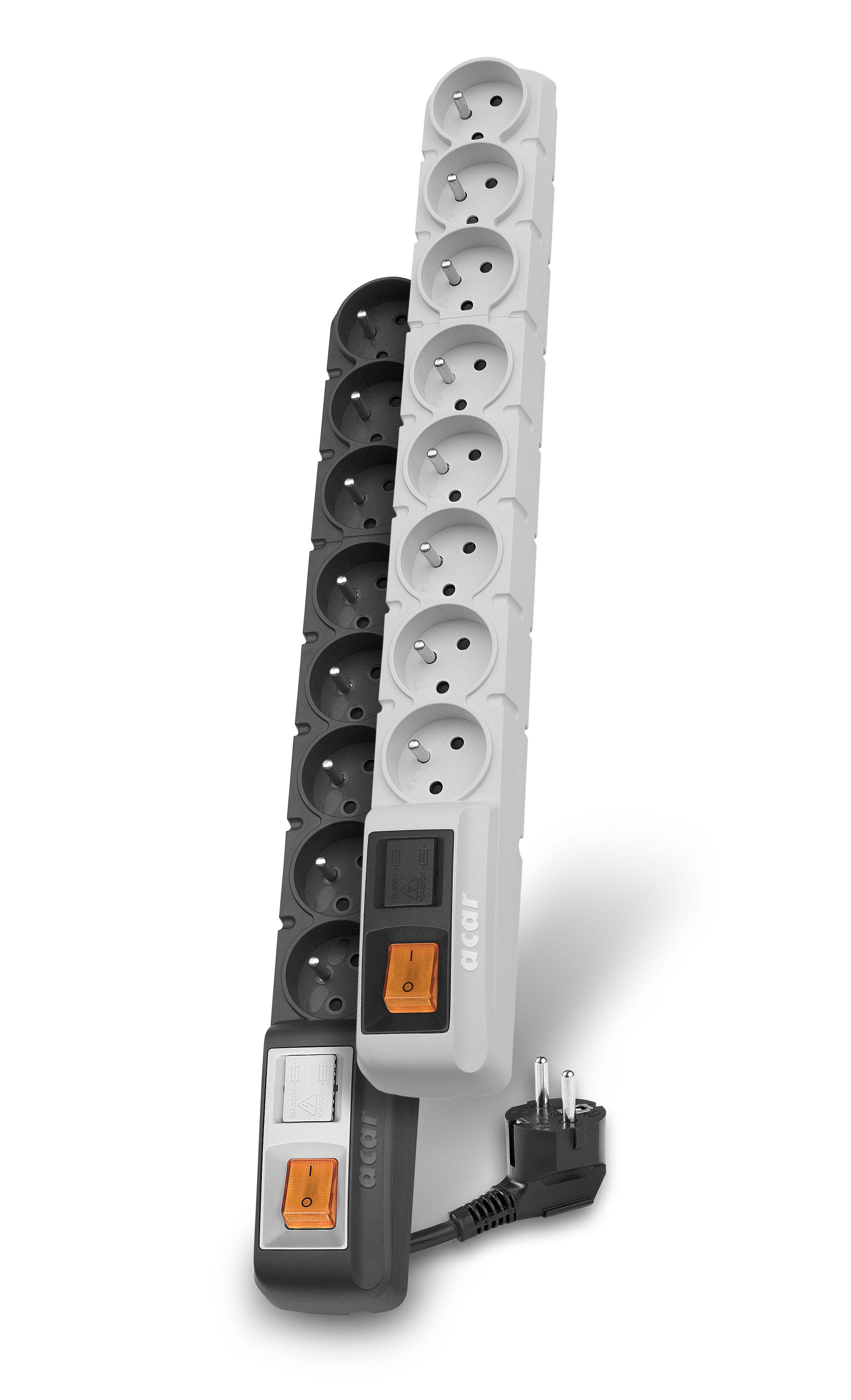Axon Acar S8 PRO: kabel 1,5 m - Zabezpieczenia przepięciowe