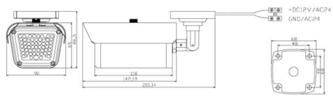 LIR-CA32 - Oświetlacze podczerwieni