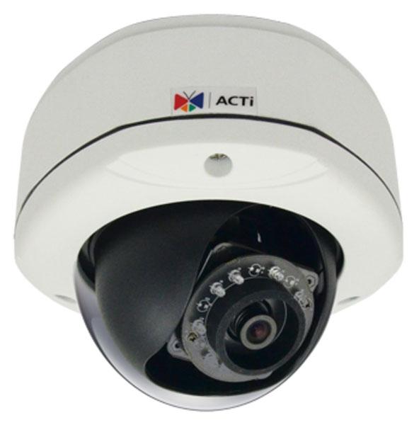 ACTi E82 - Kamery kopułkowe IP