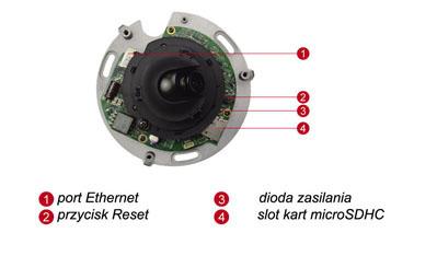 ACTi E92 - Kamery kopułkowe Mpix