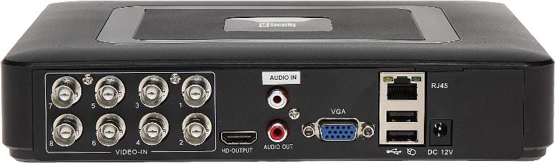 LC-8000 hybrydowy - kamering CCTV / AHD / IP - Rejestratory 8-kanałowe