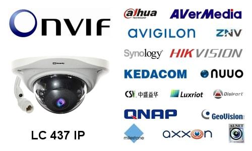 LC-437 IP 3.6mm - Kamery kopułkowe IP