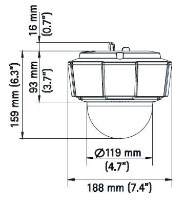 AXIS P5512-E PTZ - Kamery obrotowe IP