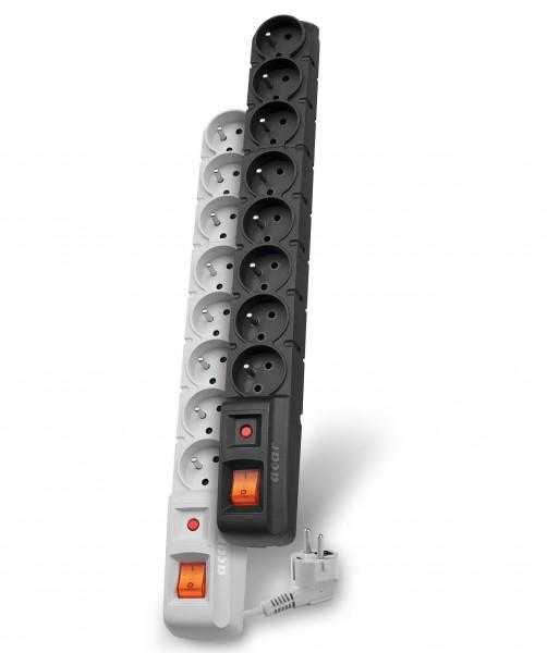 Axon Acar S8: kabel 3 m - Zabezpieczenia przepięciowe