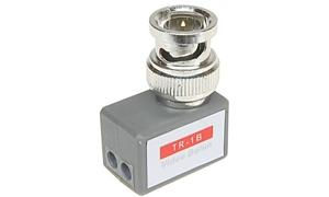 2 x TR-1B - Transformator wideo z wtykiem BNC, kątowy