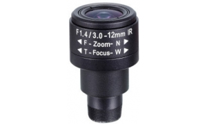 Obiektyw Mpix LC-M125VM3312IR