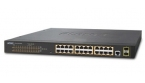 Planet GS-4210-24P2S - Switch 24x10/100/1000T PoE + 2xSFP